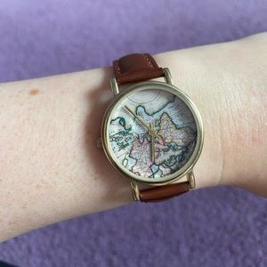 Urban Outfitters Genuine Leather watch
